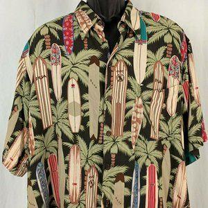 Vintage 90s Reyn Spooner Hawaiian Aloha Shirt XXL